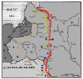 World War One - Theatres of War - History