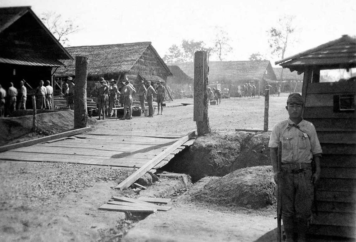 japanese pow camps