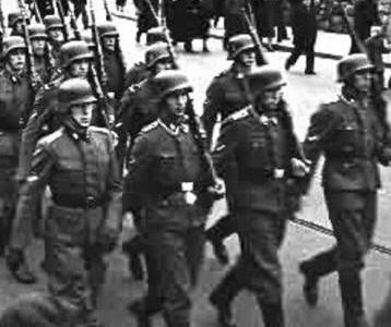 a history of the rise of the ss schutzstaffel Nazi germany: the ss (schutzstaffel) the ss fascinate us till this day not only because of their blind loyalty to hitler, but also because they were ruthlessly efficient  at the time, weisthor was head of the department of early pre-history and early history at the main office of race and settlement (rusha) he was also considered an expert.