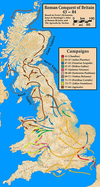 The Romans – Invasion of Britain