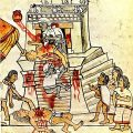 Aztec sacrifice, Magliabechiano Codex