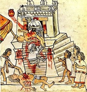 human sacrifices aztecs