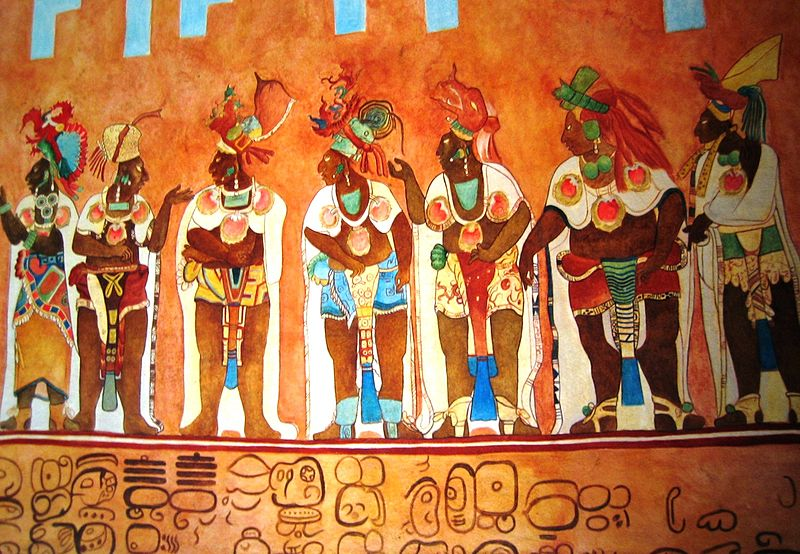 Rise and fall of maya civilization over 3 000 years history for Dynasty mural works