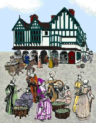 The Tudors – Market Place
