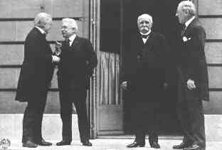 what caused the treaty of versailles