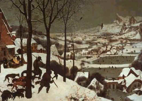 Medieval Life – Breugel's Hunters in the Snow