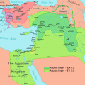 Map of the Neo-Assyrian Empire. Public domain, via Wikimedia Commons