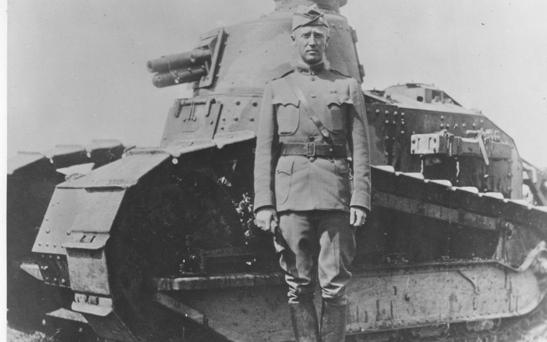 Patton's Near-Death Experience in World War One