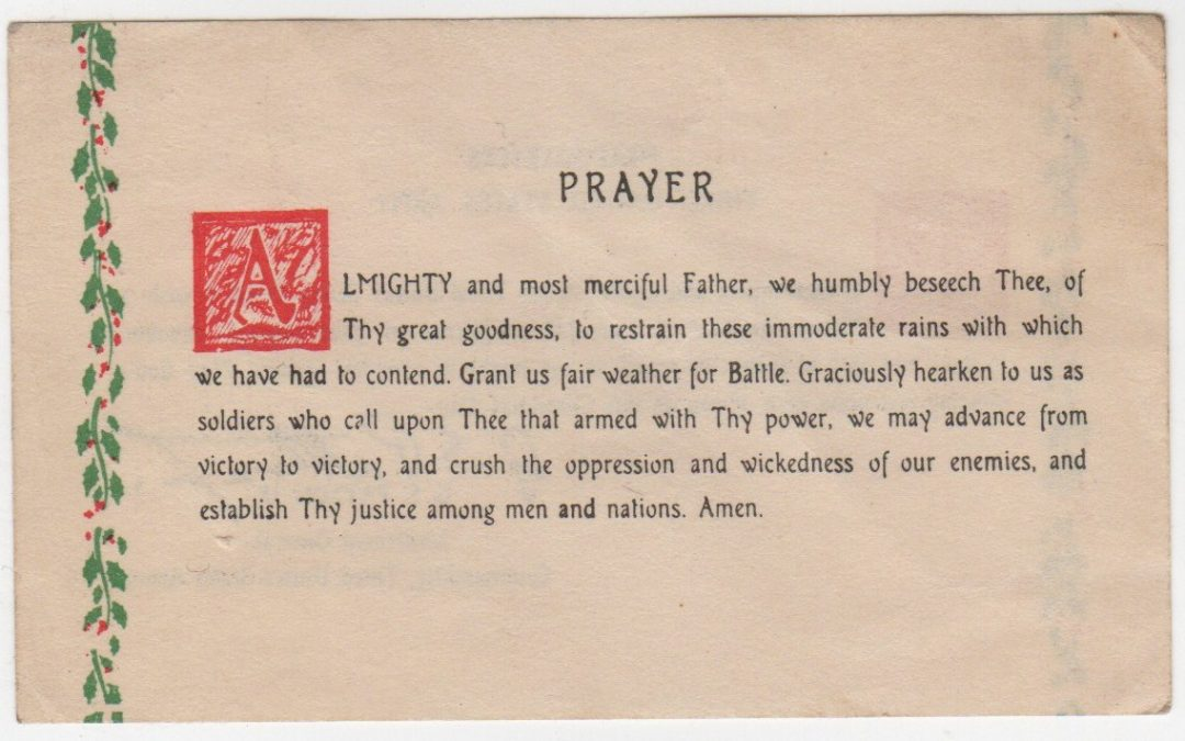 Patton's Prayer for Courage