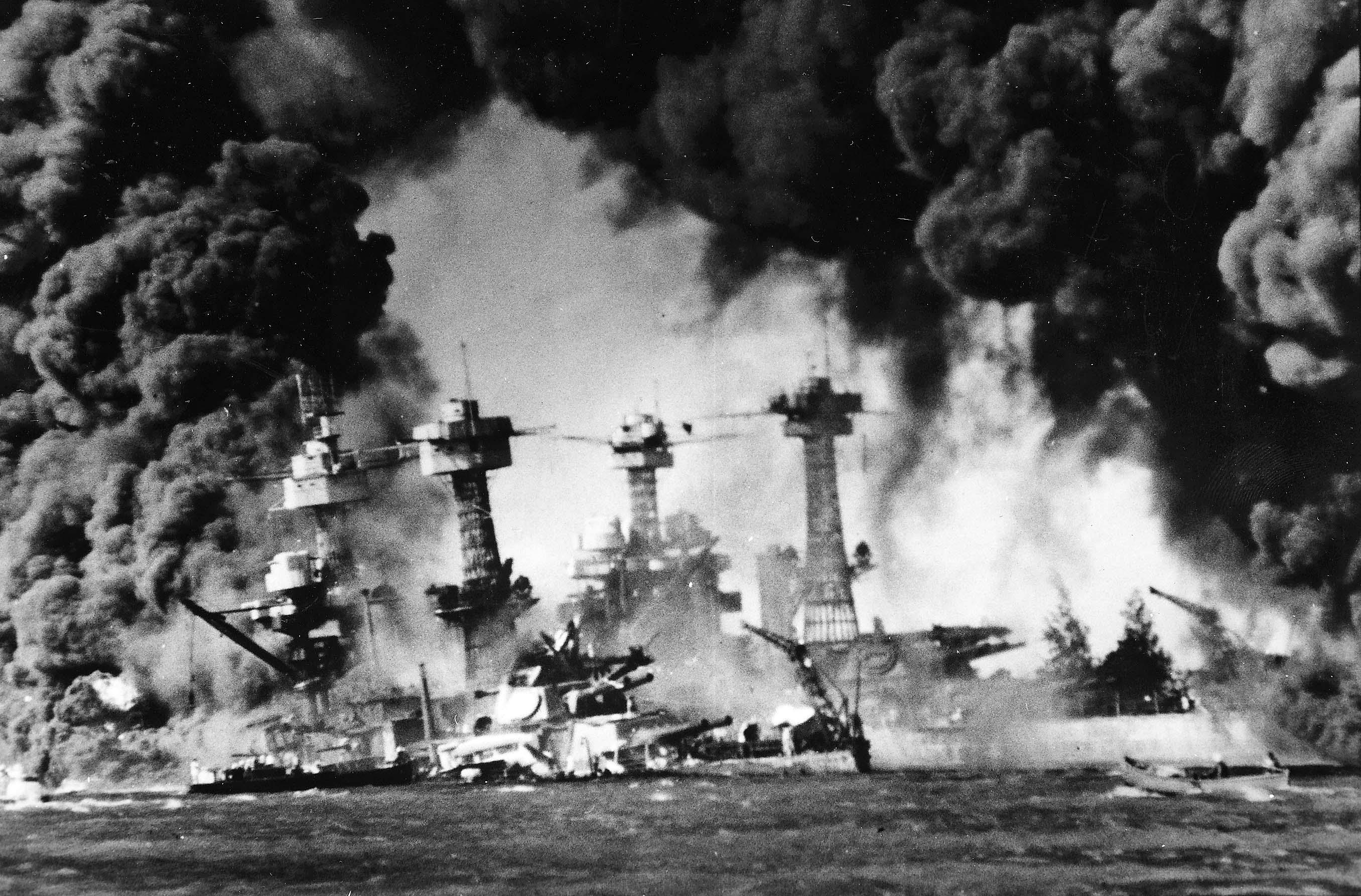 World War II Post Pearl Harbor timeline | Timetoast timelines |World War 2 Bombing Of Pearl Harbor