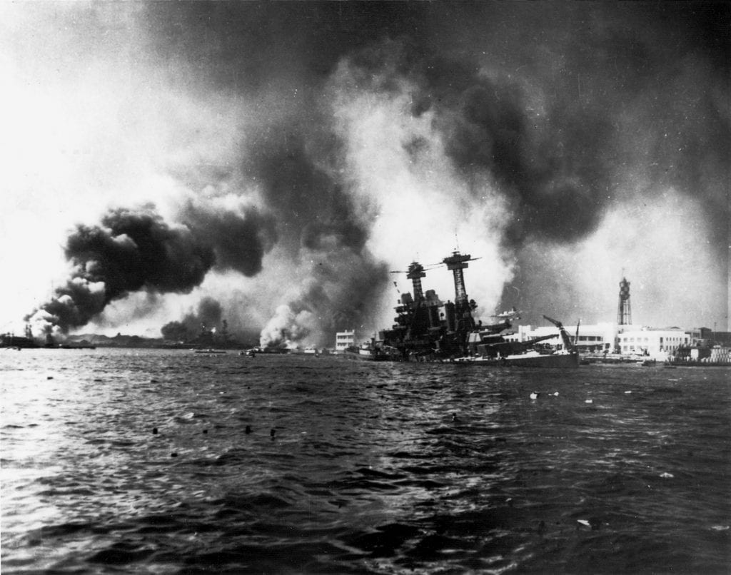 thinking of the situation in context the japanese bombed pearl harbor