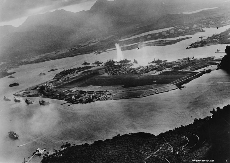 Japanese strategy in Pearl Harbor