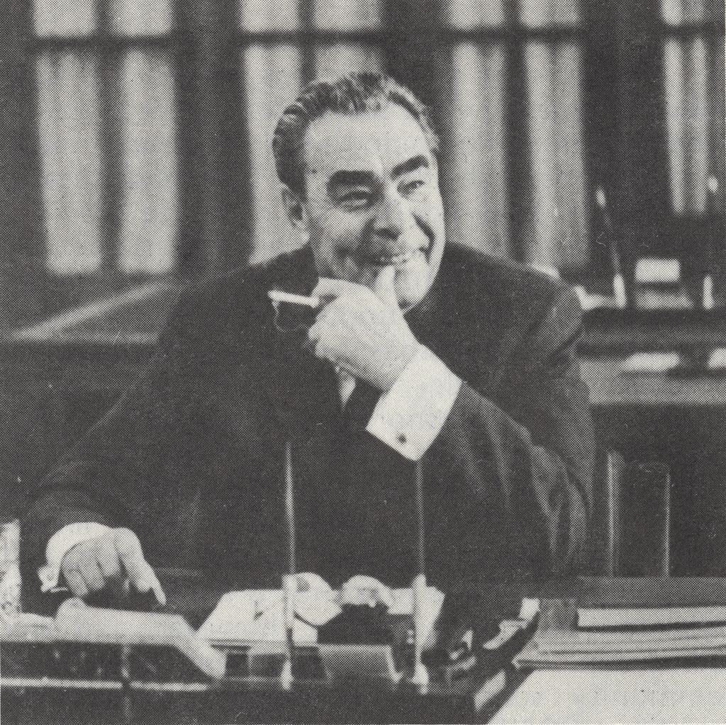 leonid brezhnev Leonid ilyich brezhnev was the archetypal soviet politician associated with classic cold war politics in the 1970's seen as a hard line communist.