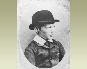 winston churchill childhood