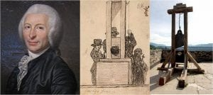 did inventor of guillotine die by guillotine?