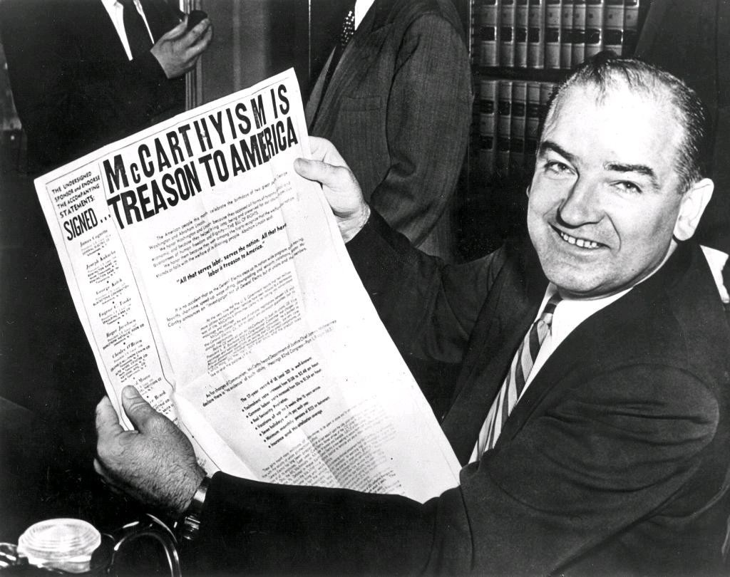 a history of joe mccarthy and mccarthyism Mccarthyism is a term referring to senator joseph mccarthy and is common saying for reckless and unsubstantiated accusations and public attacks.