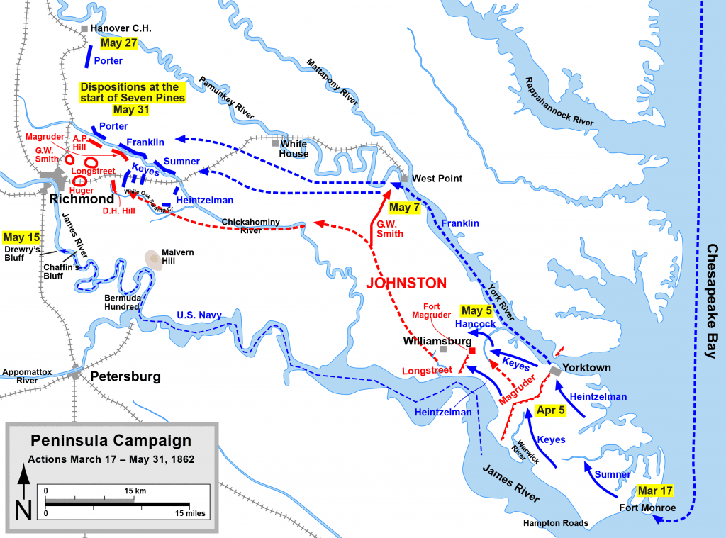 History Of The Civil War In 10 Battles Part 5 The 1862