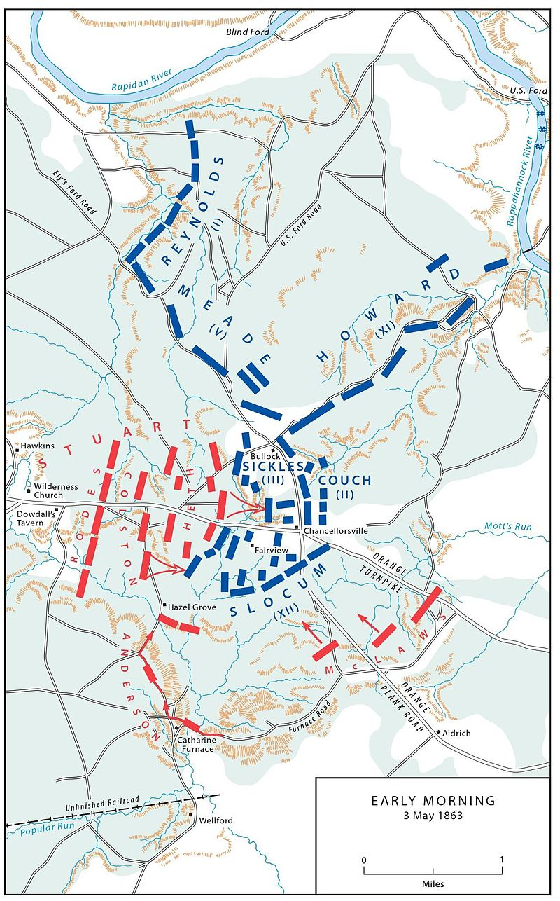 Key Battles Of The Civil War History - Us-civil-war-map-of-battles