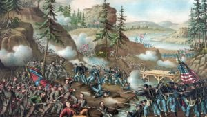 Battle of Chattanooga (Nov  24-25, 1863) - History