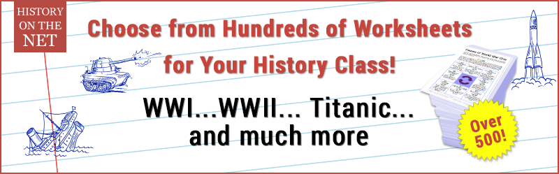 History Worksheet Mega-Pack!