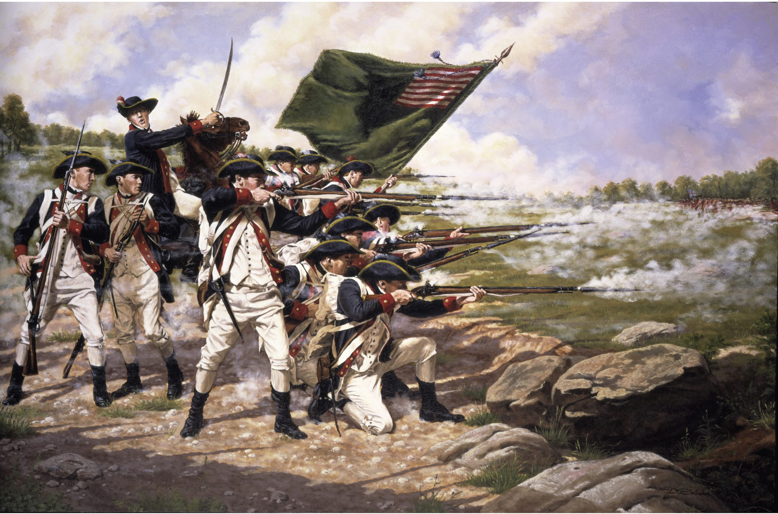 The Battle of Long Island also known as Battle of Brooklyn