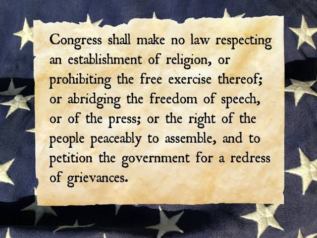 The First Amendment to the Constitution Facts