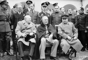 FDR, Stalin, and Churchill