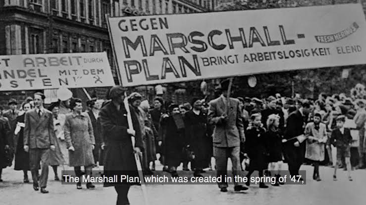 what was the marshall plan during the cold war