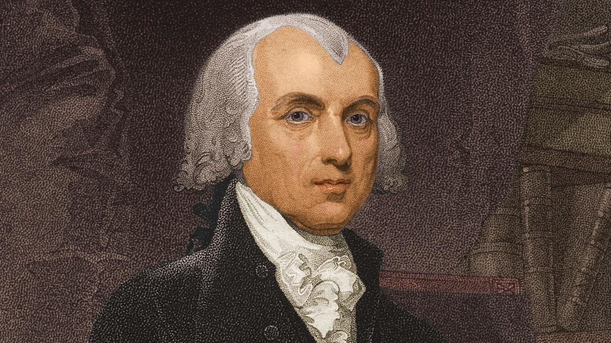 james madison political party